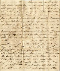001. Sarah Ann Marshall to Mrs. Elizabeth Greenwood -- November 3, 1835