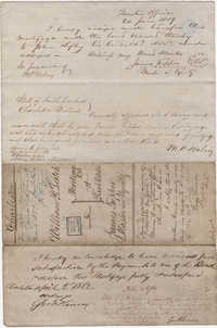 008. Mortgage of William Leitch -- July 13, 1858