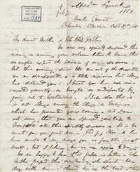 015. Madame Baptiste to Bp Patrick Lynch -- September 29, 1858