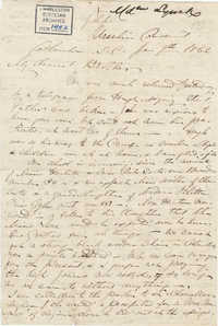 194. Madame Baptiste to Bp Patrick Lynch -- January 7, 1862