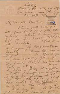 413. Madame Baptiste to Bp Patrick Lynch -- May 20, 1866