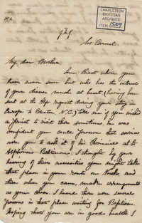 394. Madame Antonia to Bp Patrick Lynch -- February 26, 1866