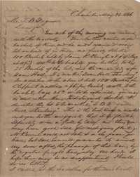 295. William McBurney to Thomas B. Ferguson -- May 28, 1866