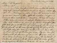 292. William McBurney to Thomas B. Ferguson -- May 5, 1866