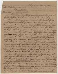 267. William McBurney to Thomas B. Ferguson -- December 13, 1865