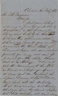 274. William McBurney to Thomas B. Ferguson -- February 26, 1866