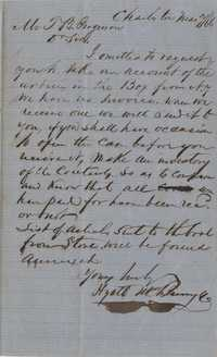275. William McBurney to Thomas B. Ferguson -- March 7, 1866