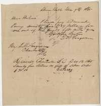 266. Thomas Ferguson requesting payment from Dugue B. Ferguson -- December 9, 1865