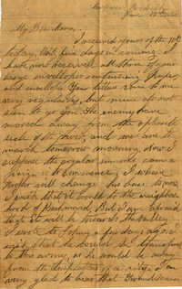 086. Willis Keith to Anna Bell Keith -- June 15, 1863