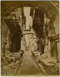 Roma - Ghetto - (antica veduta)