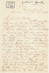 196. Madame Baptiste to Bp Patrick Lynch -- January 14, 1862