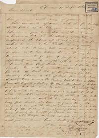 304. Francis Lynch to Bp Patrick Lynch -- September 10, 1863