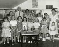 Summer reading closing exercises, Sullivan's Island Branch Library, 1957 (1)