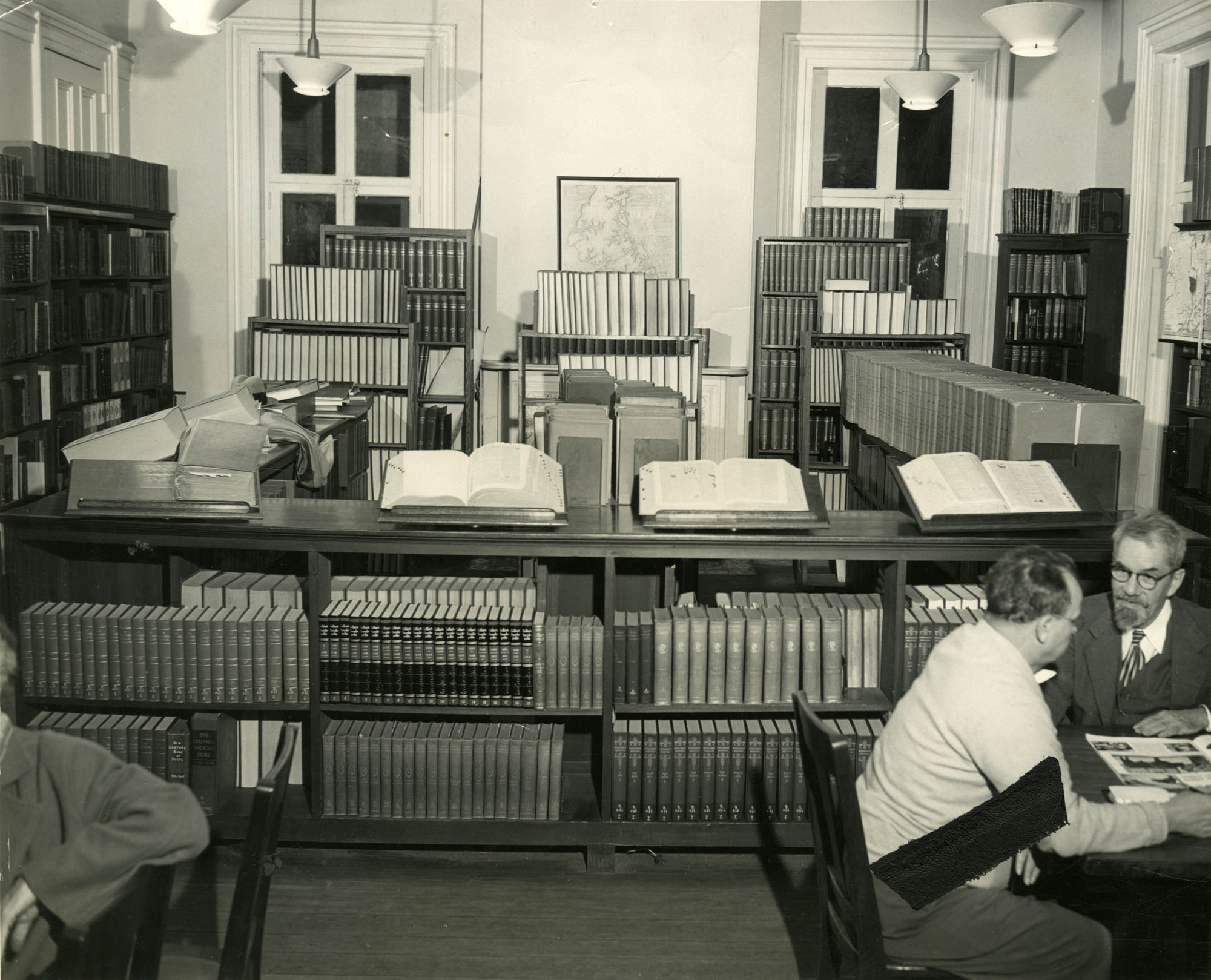 Reference and bound periodicals stacks, Main Library (1)