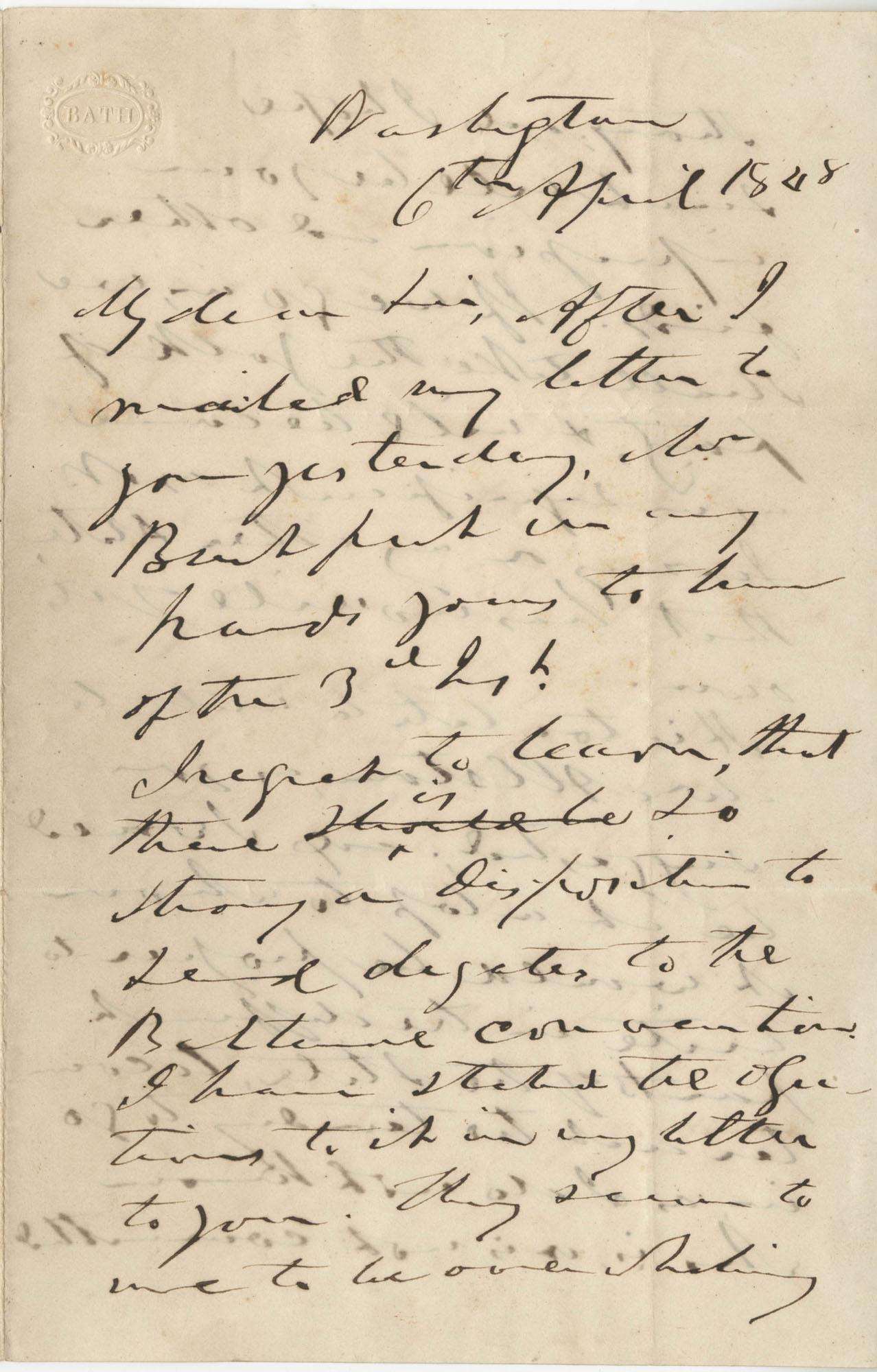 From John C. Calhoun to H. W. Conner