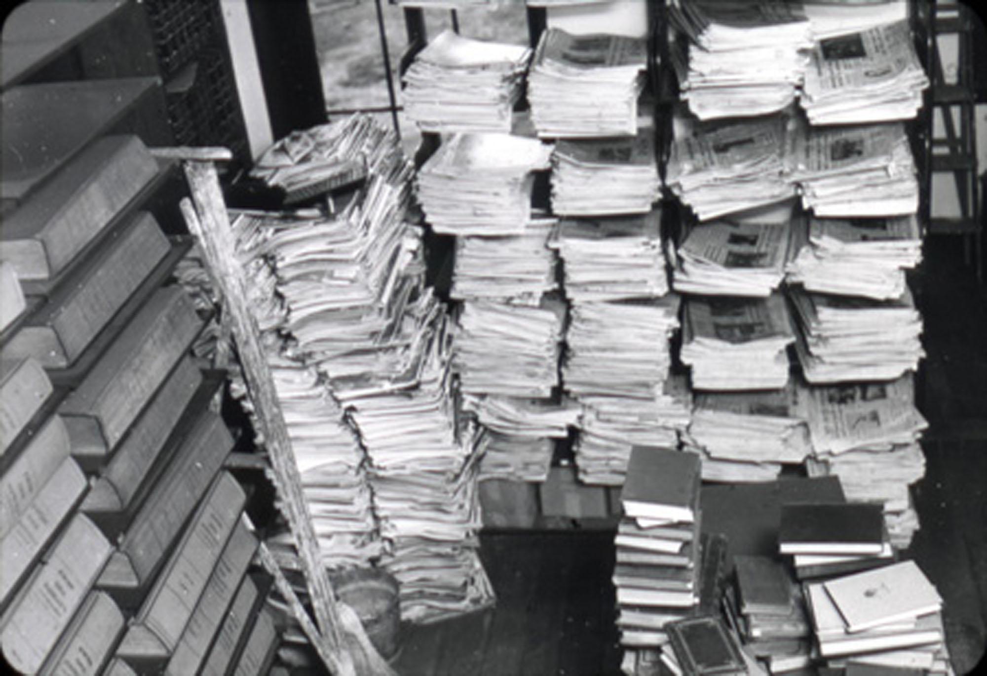 Janitor's closet, Main Library