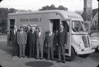 Bookmobile with members of Charleston County Council