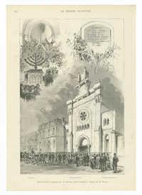 Versailles. - Inauguration du nouveau Temple israélite.