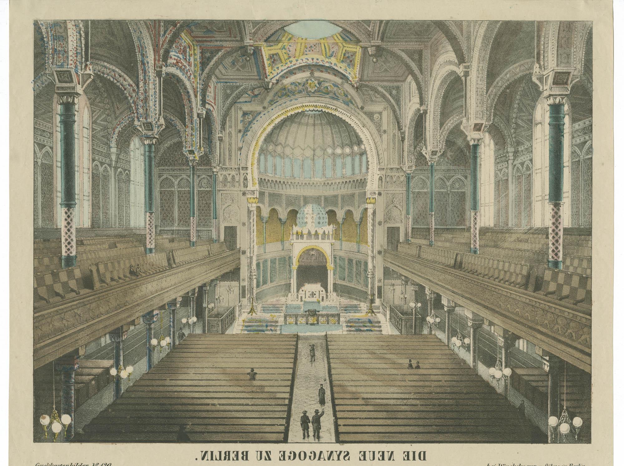 Die neue Synagoge zu Berlin