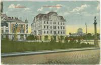 Czernowitz. Jüdisches Nationalhaus.
