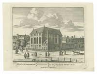 Templum Iudaeorum Germanicorum. / De Hoogduydtsche Ioode Kerk.