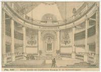 Innere Ansicht der israelitischen Synagoge in der Seitenstettengasse