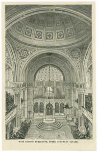 West London Synagogue, Upper Berkeley Square