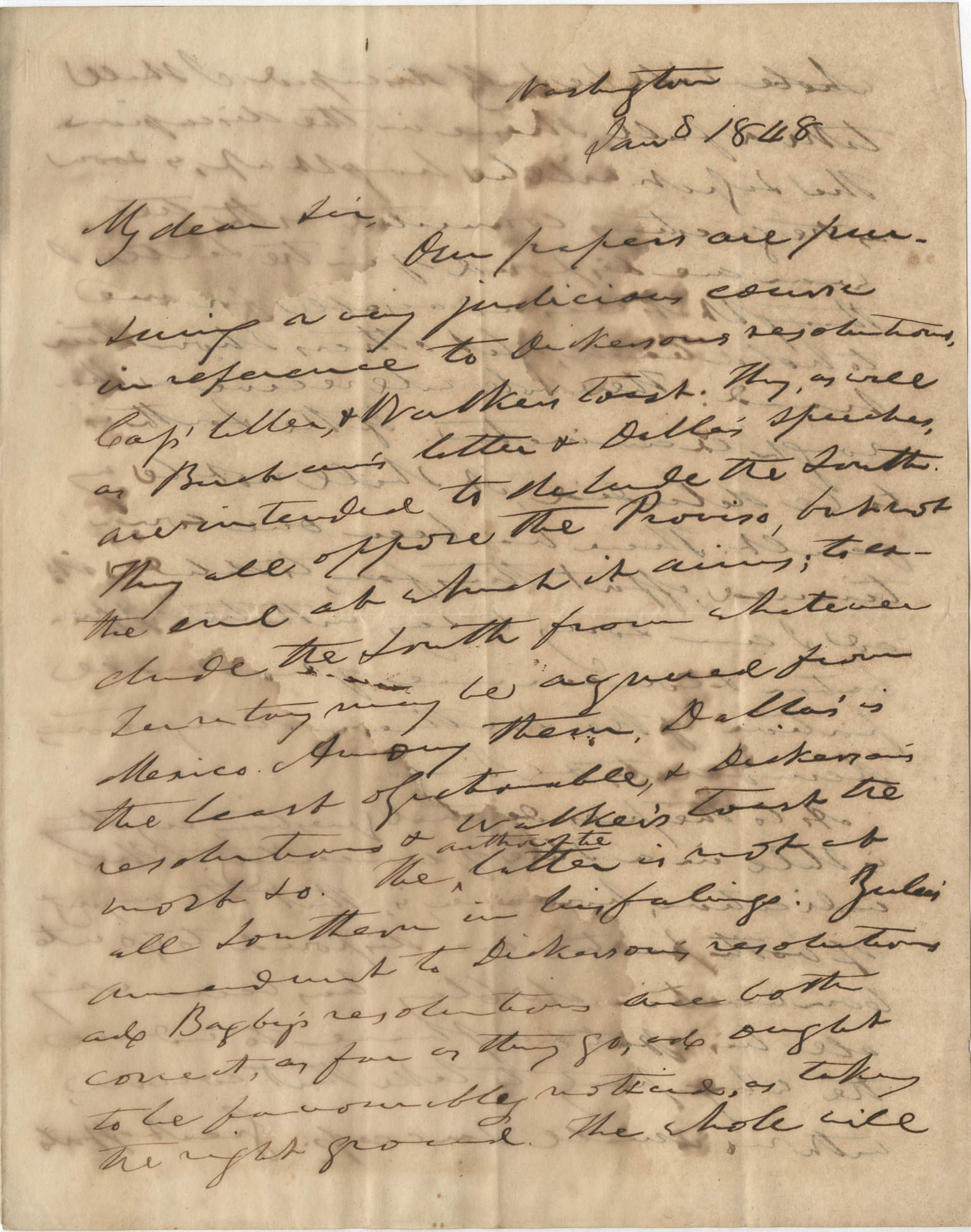 From John C. Calhoun to Henry [?]
