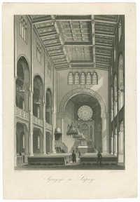 Synagoge zu Leipzig