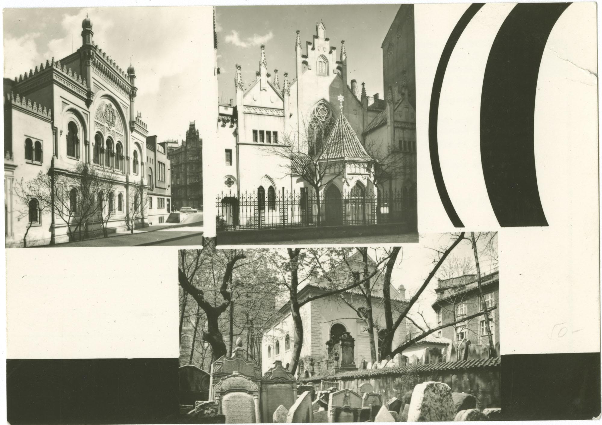 Státní židovské muzeum v Praze : muzeum v synagogách - Španělská, Maiselova, Klausová
