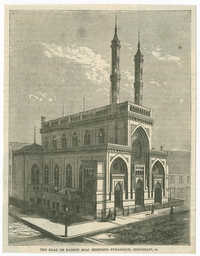 The Kaal or Kadesh B'nai Jeshurun Synagogue, Cincinnati, O.