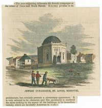 Jewish Synagogue, St. Louis, Missouri