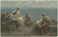 Der Tochter Jephtahs und ihrer Gespielen Trauer
