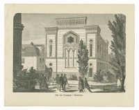Den nye Synagoge i Stockholm