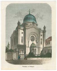 Synagoge zu Stuttgart