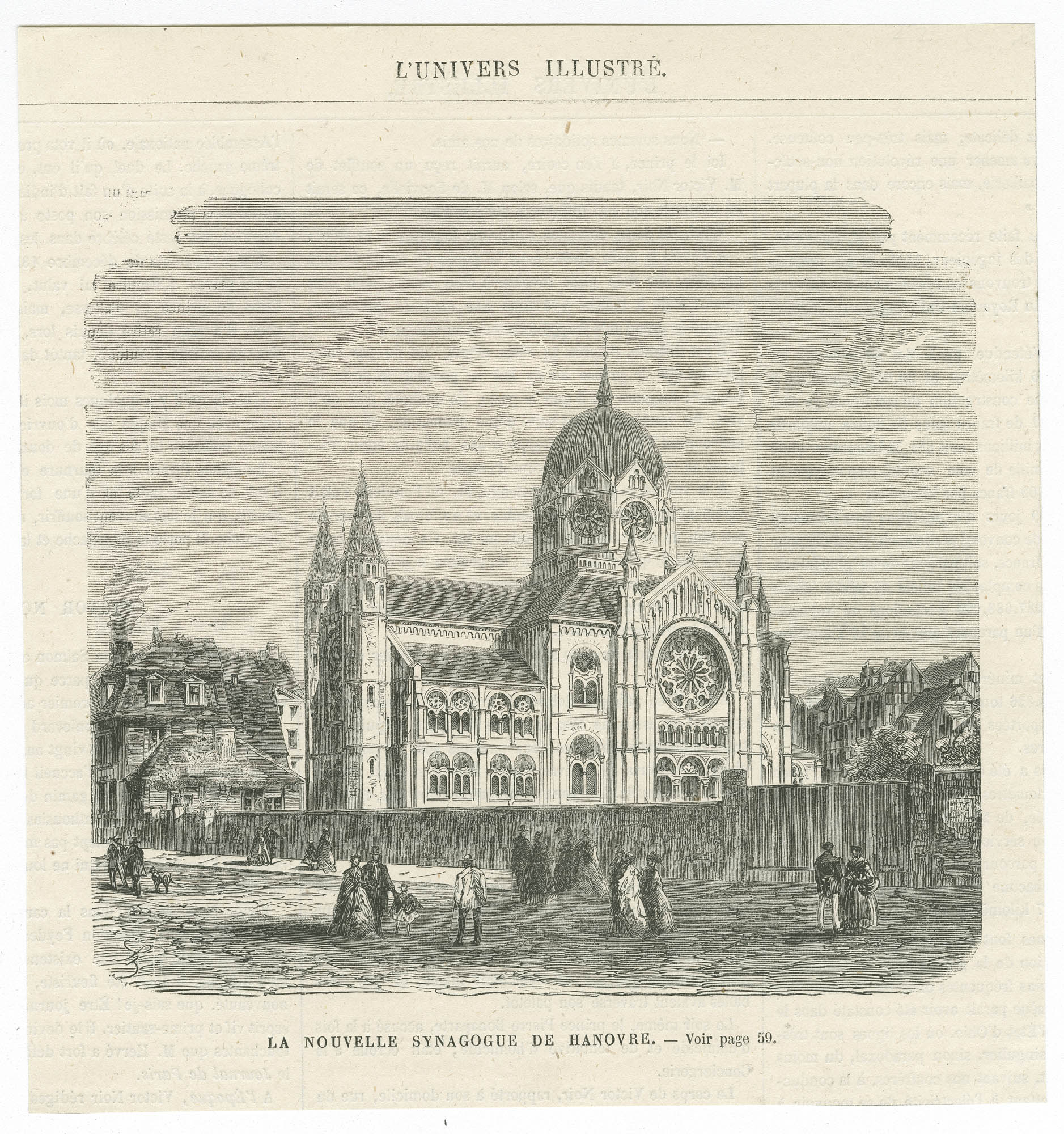 La nouvelle synagogue de Hanovre