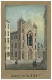Synagoge zu Frankfurt a/M.
