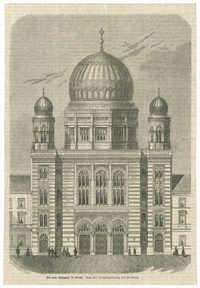 Die neue Synagoge in Berlin