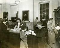Circulation desk, Main Library (2)