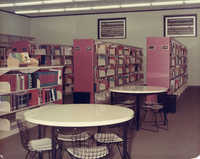 Stacks and reading area, John L. Dart Branch Library