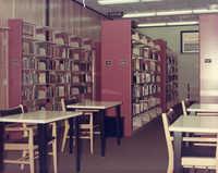 Fiction stacks, John L. Dart Branch Library