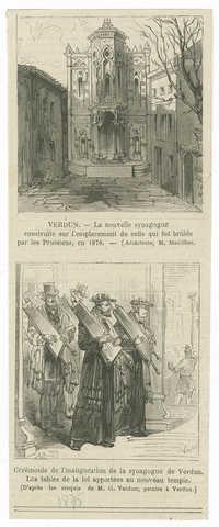 Verdun - La nouvelle synagogue