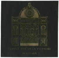 Temple rue de la Victoire, Paris 1874
