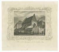 Altneuschule. Synagoge in der Judenstadt in Prag.