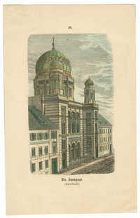 Die Synagoge. (Knoblauch.)