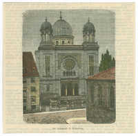 De Synagoge te Nürnberg
