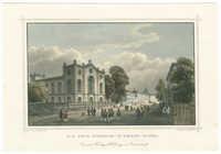 Die neue Synagoge in Hessen-Cassel