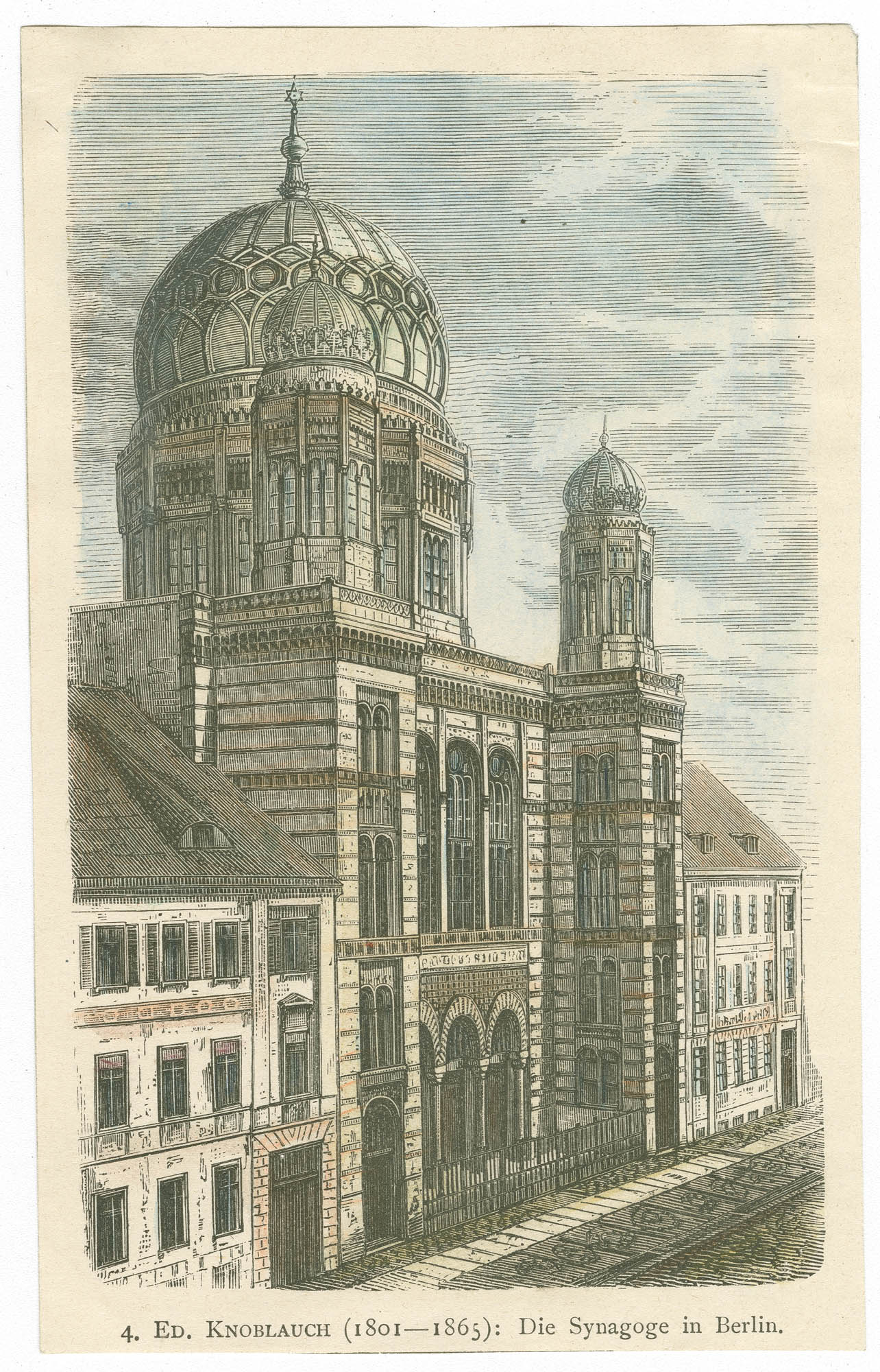 Die Synagoge in Berlin