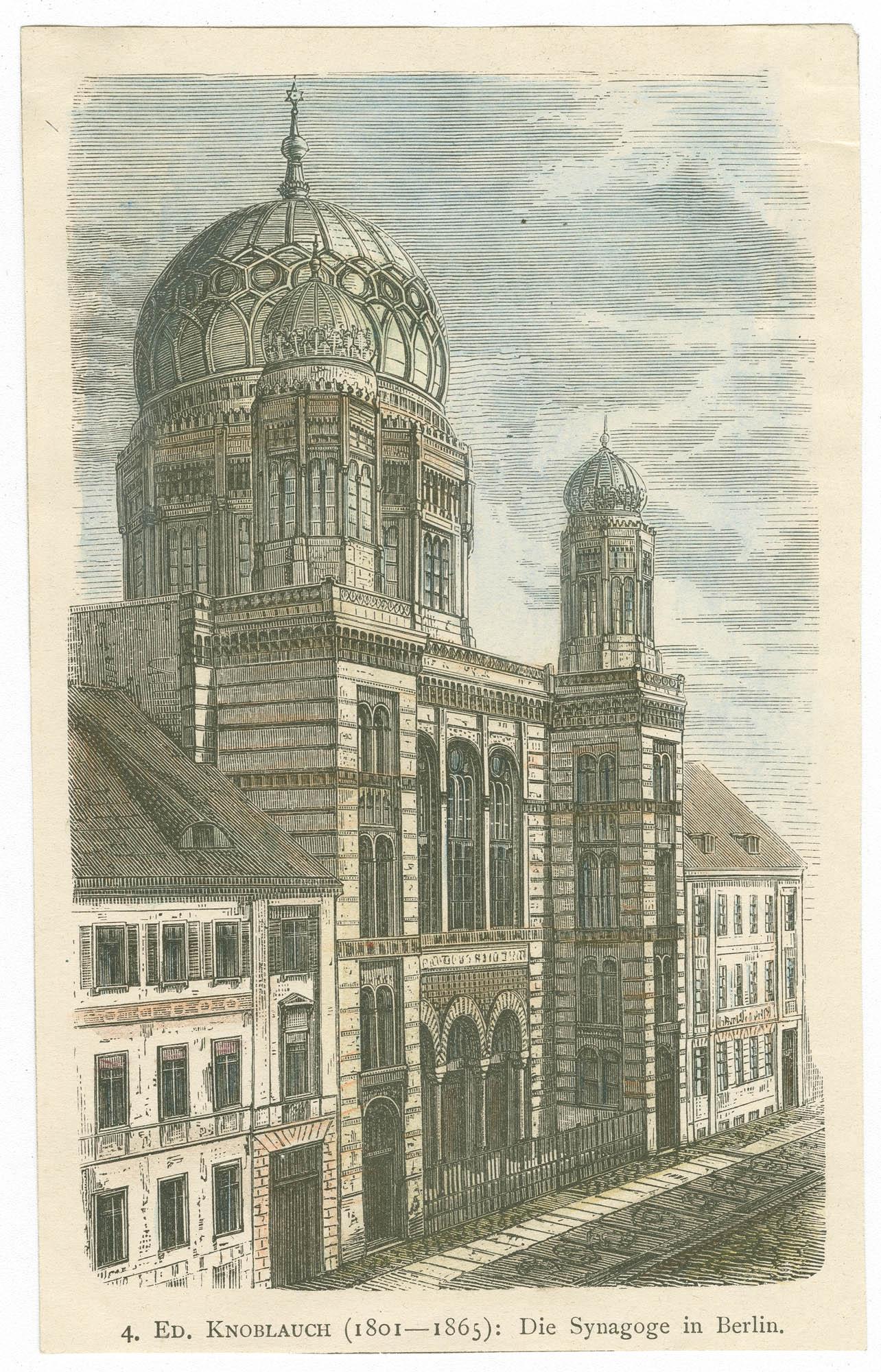 Die Synagoge in Berlin