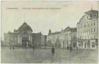 Czernowitz -- Jüdisches Nationalhaus mit Stadttheater